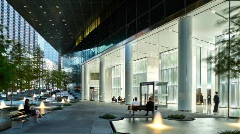 Jumbo Glass Clear Span Facade
