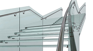 Structural Glass Stairs