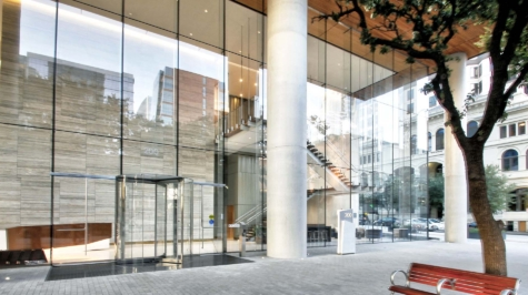 Structural Glass Entrance Façade